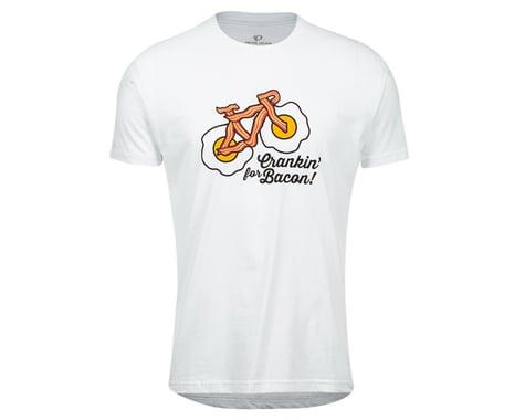 Pearl Izumi Go-To Tee Shirt (White Crankin Bacon) (S)