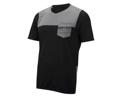 Pearl Izumi Divide Short Sleeve Jersey (Black/Grey)