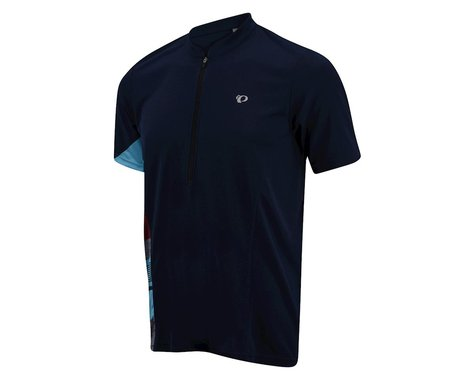 Pearl Izumi Journey Short Sleeve Jersey (Blue) (Medium)