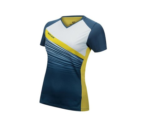 Pearl Izumi Women's Launch Short Sleeve Jersey (Blue) (Xxlarge)