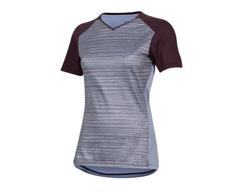 Pearl Izumi Women's Launch Short Sleeve Jersey (Plumb Perfect/Eventide Vert) (XS)