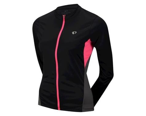 Pearl Izumi Women's Select Long Sleeve Jersey (Black/Pink) (Xxlarge)