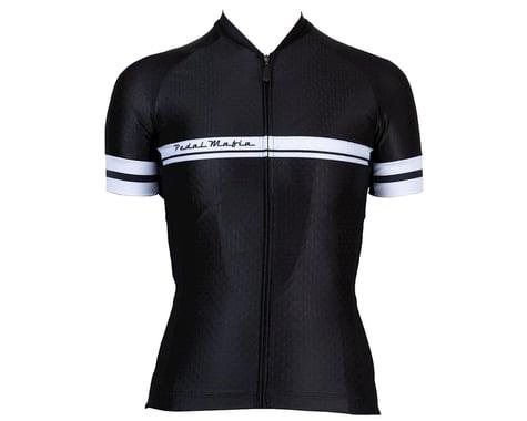 Pedal Mafia Women's Core Short Sleeve Jersey (Black)