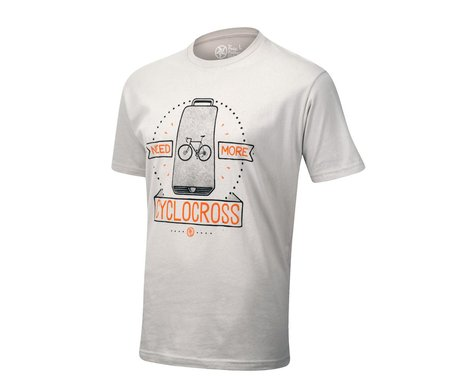 Pedal Pushers The Pedal Pusher Club Need More Cross T-Shirt (Grey)