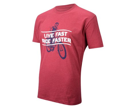 Pedal Pushers The Pedal Pushers Live Fast T-Shirt (Red)
