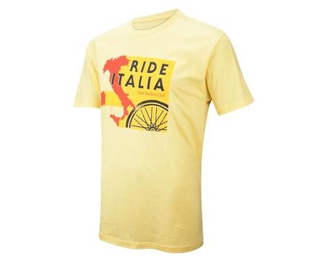 Pedal Pushers The Pedal Pushers Ride Italia T-Shirt (Yellow)