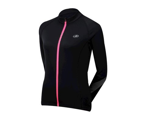 Performance Women's Neve Thermal Long Sleeve Jersey (Black)