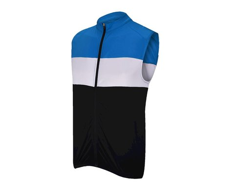 Performance Elite Sleeveless Cycling Jersey (Black/Yellow)