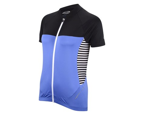 Performance Women's Elite Short Sleeve Jersey - 2016 (Blue/Black)