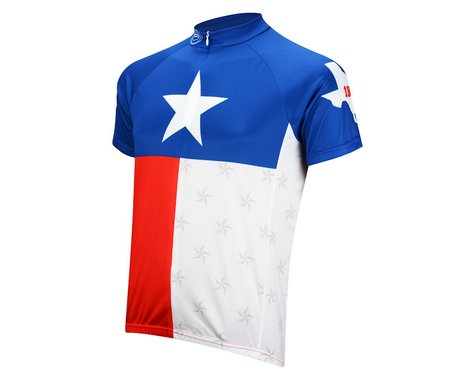 Performance Texas Short Sleeve Jersey (Red/White/Blue)