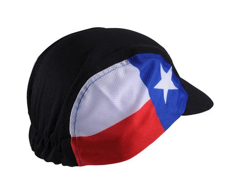 Performance Texas Cycle Cap (Black) (One Size)