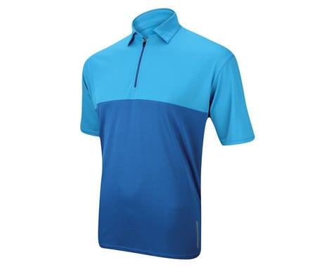 Performance Classic Polo Short Sleeve Jersey (Blue) (Xxxlarge)