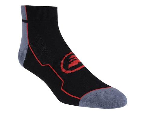 Performance Stripe Low Socks (Black/Red) (L/Xl)
