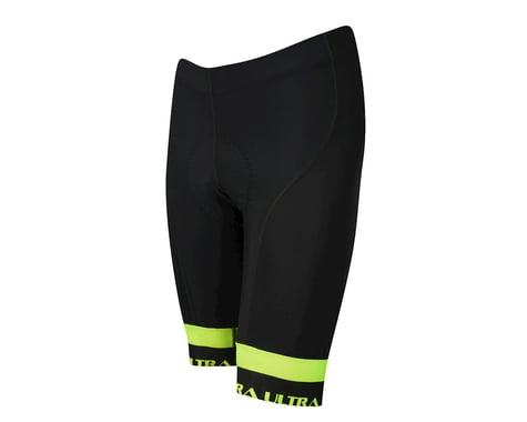 Performance Ultra Shorts (Black/Yellow) (XL)