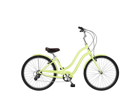 Phat Cycles Del Rey 7-Speed Step-Through Comfort Bike (Mint)