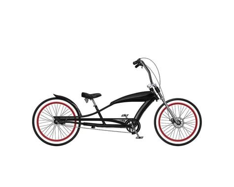 "Phat Cycles Stretch 24"" Beach Cruiser -- 3 Speed (Black)"