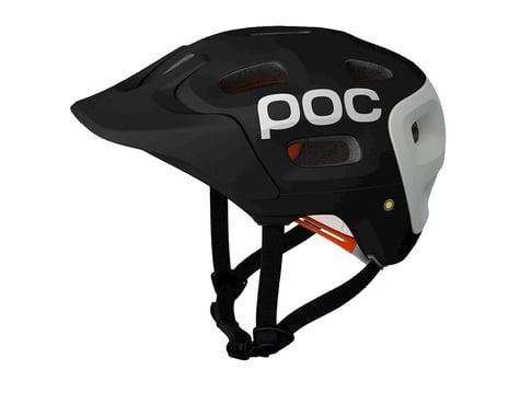 POC Trabec Race MTB Helmet (Black/White)