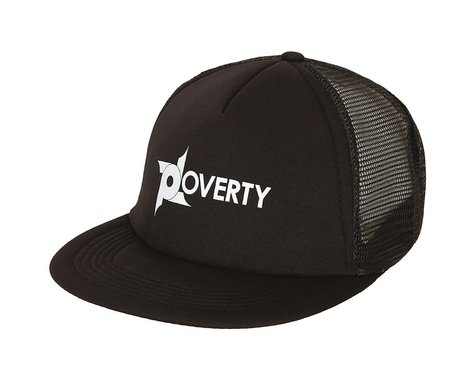 Poverty Trucker Snapback Hat (Black)