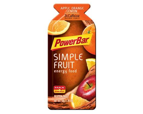 Powerbar Food Pwb Gel Simple Fruit Apple Org Lemon Bxof12
