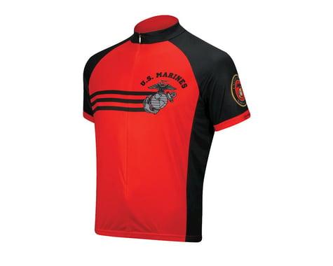Primal Wear U.S. Marines Vintage Short Sleeve Jersey (Red)