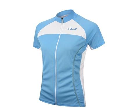Primal Wear Women's Cerulean Black Label Short Sleeve Jersey (Blue) (Xsmall)