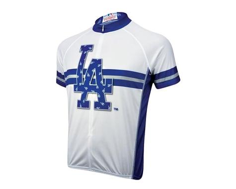 Primal Wear Los Angeles Dodgers Short Sleeve Jersey (Blue)