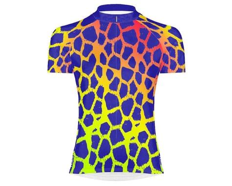 Primal Wear Women's Short Sleeve Jersey (Giraffe Print) (XS)