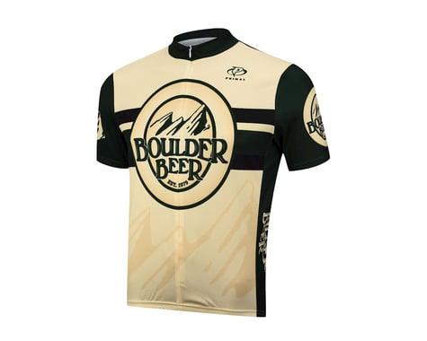 Primal Wear Boulder Beer Short Sleeve Jersey (Cream) (Medium)