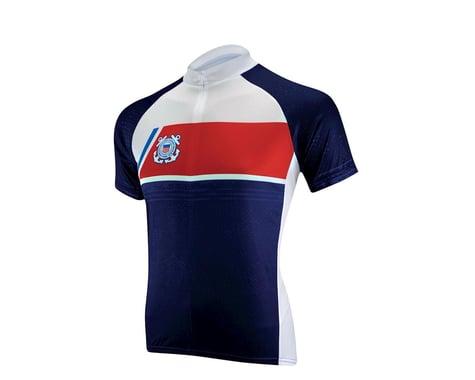 Primal Wear U.S. Coast Guard Navigator Short Sleeve Jersey (Blue/White) (Xxxlarge)