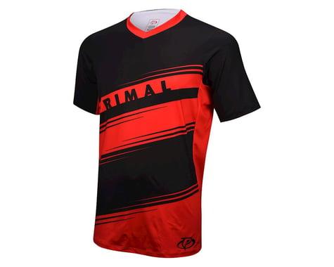 Primal Wear Dimension MTB Short Sleeve Jersey (Red) (Xxlarge)
