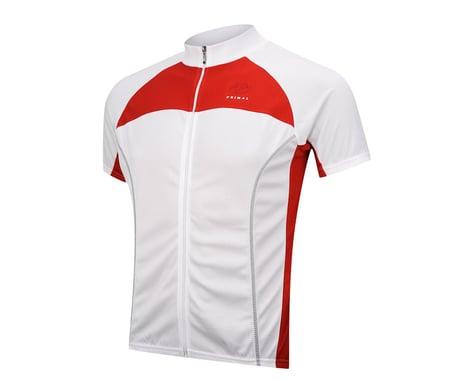 Primal Wear Lucent Black Label Short Sleeve Jersey (White) (Xlarge)