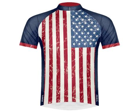 Primal Wear Men's Short Sleeve Jersey (Stars & Stripes) (S)