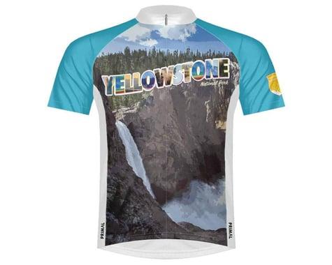 Primal Wear Men's Short Sleeve Jersey (Yellowstone National Park) (S)