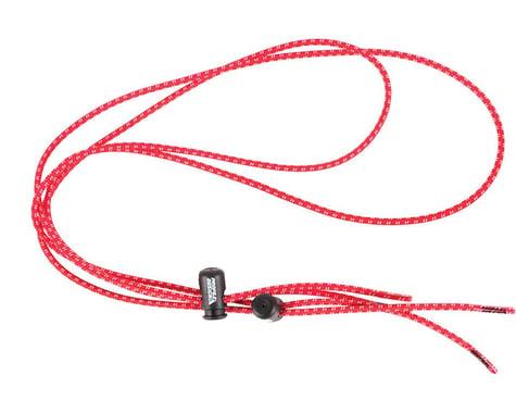 Profile Design Elastic Laces with Lock: Red
