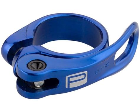 Promax QR-1 Quick Release Seatpost Clamp (Blue)