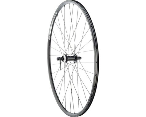Quality Wheels Value Double Wall Series Front Wheel (700c) (Quick Release) (Rim/Disc Brake)