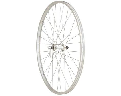 Quality Wheels Value Series Silver Pavement Front Wheel (700c) (Formula/Alex Y200)