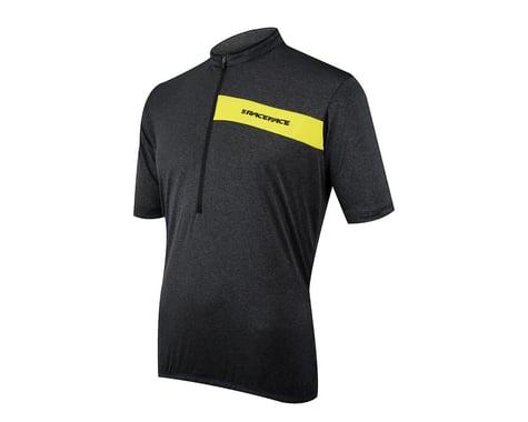 Race Face Podium Short Sleeve Jersey (Black/Yellow)