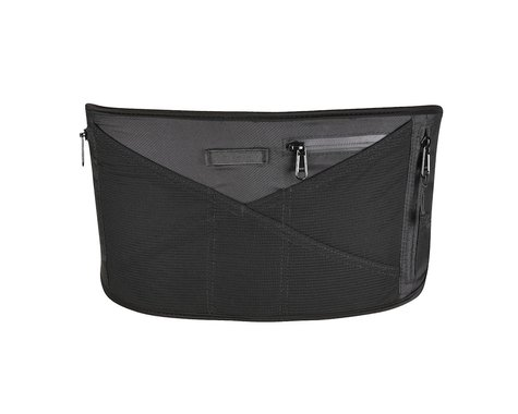 Race Face Rip Strip Storage Lumbar Belt (Black) (One Size)
