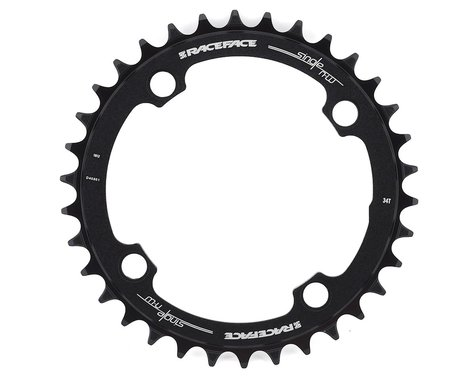 Race Face Narrow-Wide Chainring (Black) (104mm BCD) (Offset N/A) (34T)