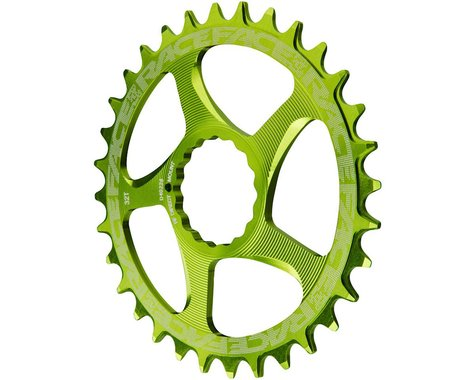 Race Face Narrow-Wide Chainring (Green) (CINCH Direct Mount) (3mm Offset (Boost)) (34T)