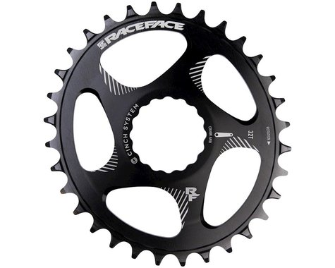 Race Face Narrow Wide Oval Direct Mount Cinch Chainring (Black) (3mm Offset (Boost)) (32T)