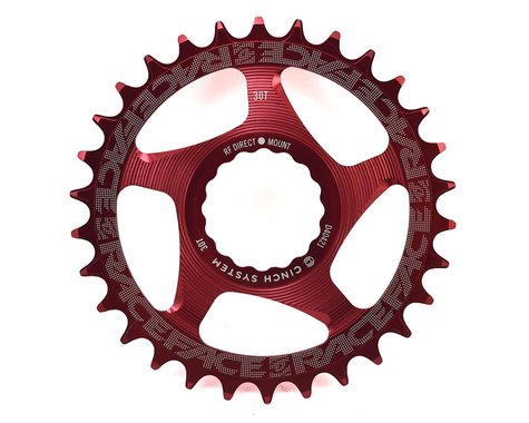 Race Face Direct Mount Narrow-Wide Chain Ring (Cinch) (Red)