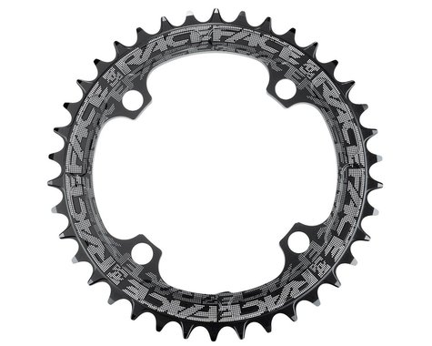 Race Face Narrow-Wide Chainring (Black) (104BCD) (38T)