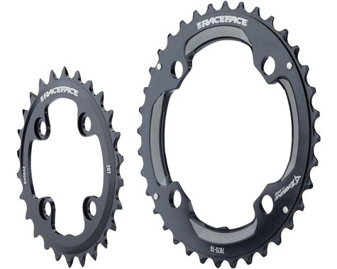 Race Face Turbine 11 Speed Chainring Set (Black) (64mm x 104mm BCD) (Offset N/A) (24/34T)