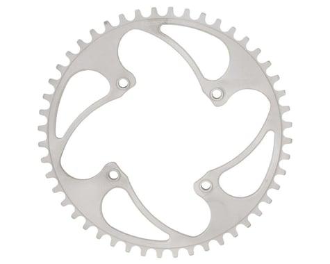RENNEN BMX Threaded 4-Bolt Chainring (Silver)