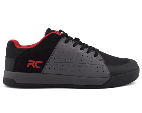 Ride Concepts Livewire Flat Pedal Shoe (Charcoal/Red) (10)
