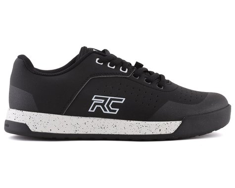 Ride Concepts Women's Hellion Elite Flat Pedal Shoe (Black/White) (5)