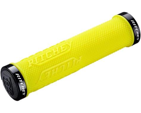 Ritchey WCS TrueGrip X Locking Grips (Yellow) (Pair)