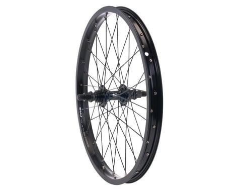 "Salt Rookie Rear Wheel - 18"", 14 x 110mm, Rim Brake, Metric Freewheel, Black, Cl"